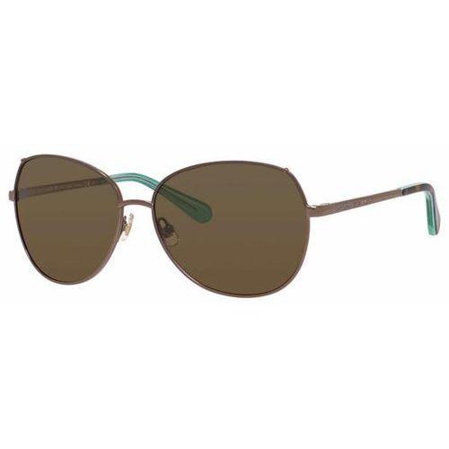 Okulary słoneczne candida/p/s polarized 0eq6/vw marki Kate spade