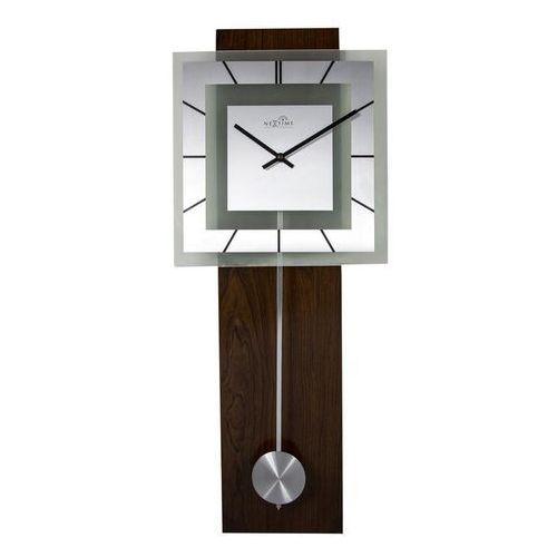 Nextime Zegar ścienny retro pendulum square
