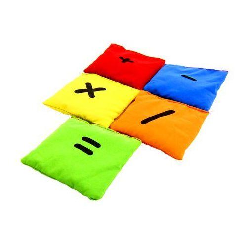 Akson  - woreczki gimnastyczne cyferki - zestaw znaki matematyczne