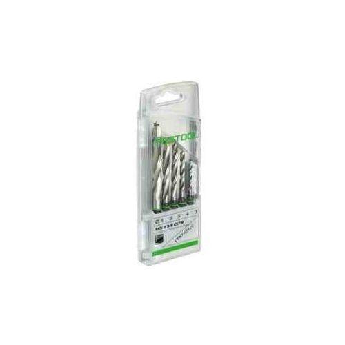 Festool kaseta z wiertłami bks d 3-8 ce/w (3,4,5,6,8 mm)