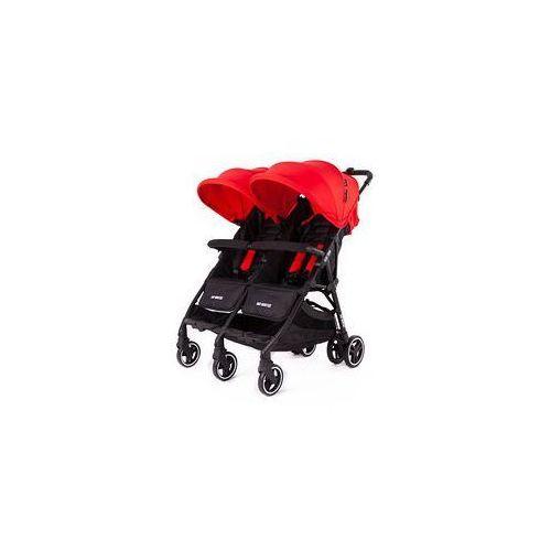 W�zek bli�niaczy Kuki Twin + Zestaw Kolorystyczny Baby Monsters (red)