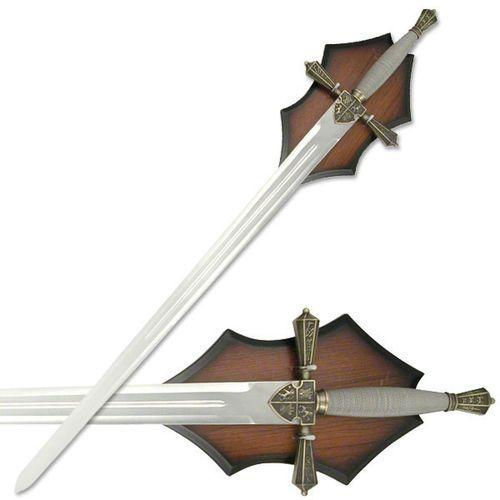 Replika miecza średniowiecznego ryszarda lwie serce z zawieszką sw-732 marki Usa