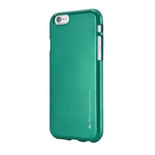 Etui Mercury iJELLY do iPhone 5S/5SE zielone Odbiór osobisty w ponad 40 miastach lub kurier 24h (8806174364533)