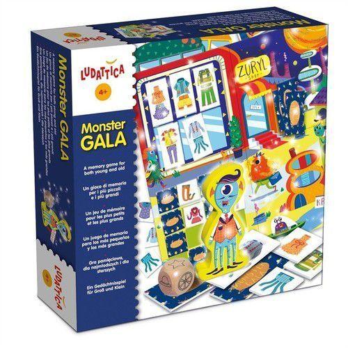 Lisciani, Ludattica, gra edukacyjna Gala Potworów, 442066