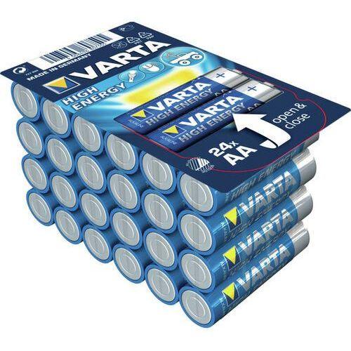 Varta 1x24 High Energy AA LR 6 Ready-To-Sell Tray Big Box (04906301124) Darmowy odbiór w 20 miastach!