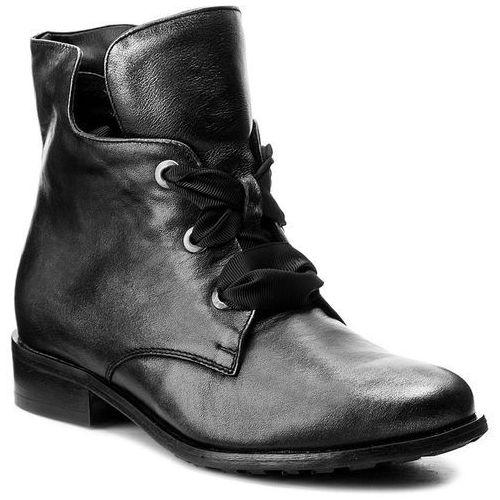 Botki - 77-4538-e04-1g czarny/srebro marki Eksbut