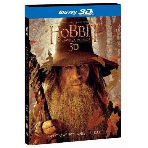 Hobbit: Niezwykła podróż 3D. Edycja specjalna (4 Blu-ray HD) (Płyta BluRay) (7321999325121)