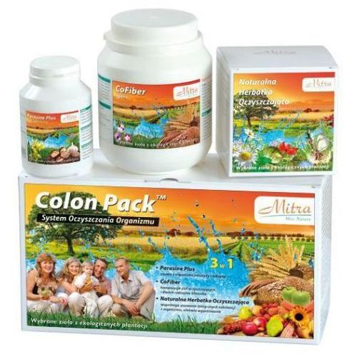 Colon pack - oczyszczanie organizmu z pasożytów i toksyn.