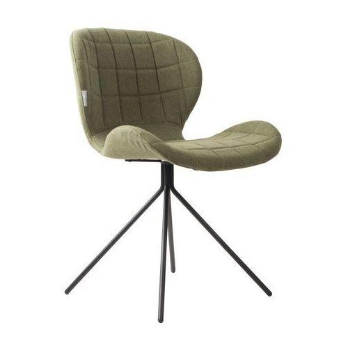 Zuiver:: Krzesło OMG zielone - wzór 6