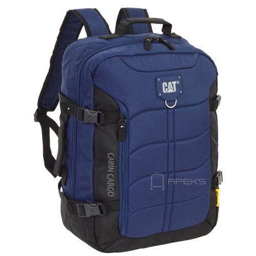 Caterpillar cabin cargo plecak podręczny / kabinowy cat / black / navy - black / navy