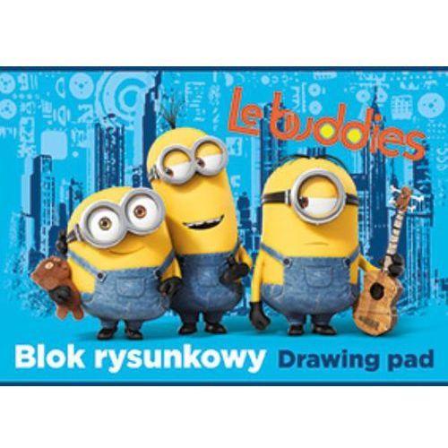 Blok rysunkowy A4 20 k. Minionki (p. 10) MAJEWSKI (5903235171918)