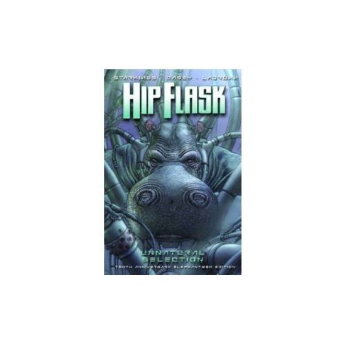 Hip Flask: Unnatural Selection 10th Anniversary Elephantmen Edition