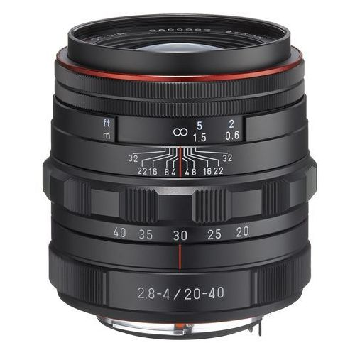 Pentax hd da 20-40 mm f/2.8-4.0 ed dc wr limited czarny (0027075274747)