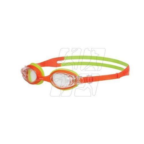 Speedo Okularki pływackie  skoogle junior 8-073598434 pomarańczowo-zielone