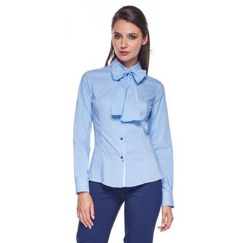 Duet woman Niebieska koszula w prążki -