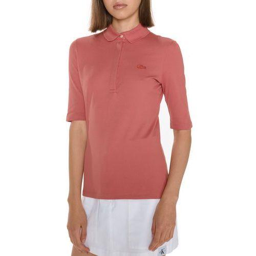 polo koszulka czerwony m, Lacoste