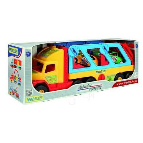 Super Truck z autkami - Wader