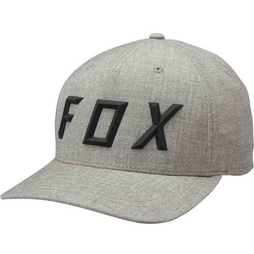 czapka z daszkiem FOX - Sonic Moth Flexfit Hat Heather Grey (040) rozmiar: S/M, kolor szary