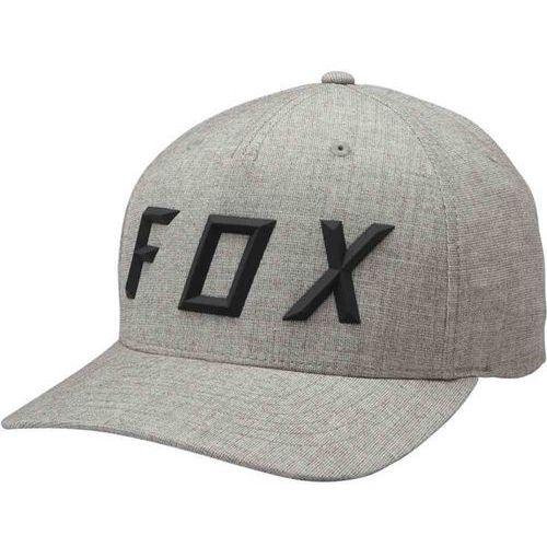 Czapka z daszkiem - sonic moth flexfit hat heather grey (040) rozmiar: s/m marki Fox