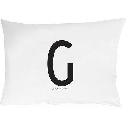 Design letters Poszewka na poduszkę arne jacobsens vintage abc litera g