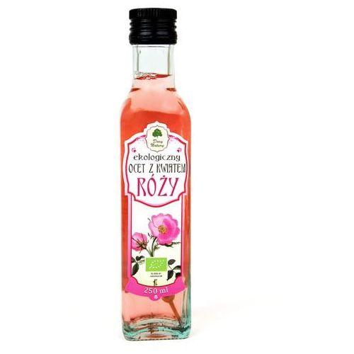 Dary natury - test Ocet z kwiatem róży bio 250 ml - dary natury