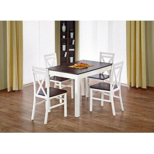 Zestaw stołowy Halmar - rozkładany stół Maurycy + 4 krzesła Dariusz 2, Halmar