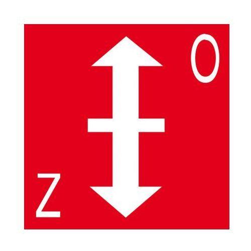 B2b partner Klapa przeciwpożarowa, kategoria: znaki informacyjne i ostrzegawcze