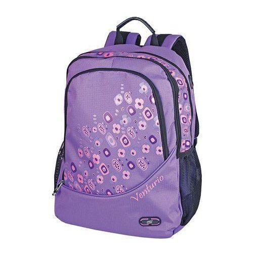 Plecak szkolno-sportowy Venturio fioletowy - produkt z kategorii- Tornistry i plecaki