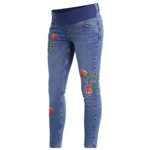 Topshop Maternity JAMI Jeans Skinny Fit middenim, 44I21LMDT