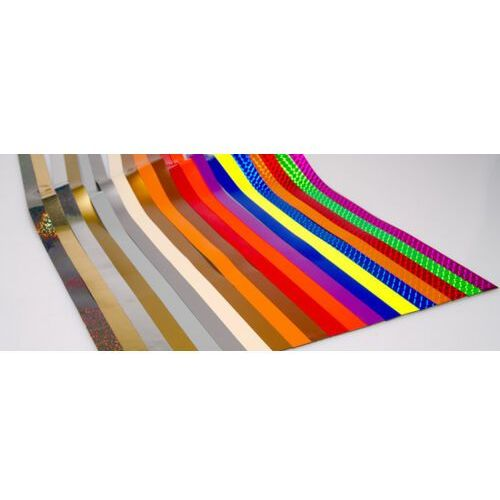 B2b partner Taśmy magnetyczne do tablic projektowych, 600x15 mm, zestaw ii, mix kolorów metalicznych, 20 szt