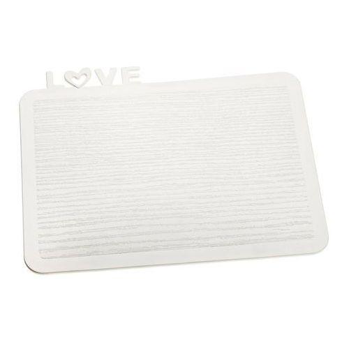 Deska śniadaniowa Happy Boards Love biała