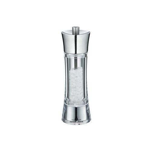 Zassenhaus młynek do soli, śred. 5,8x18 cm, stalowo-akrylowy