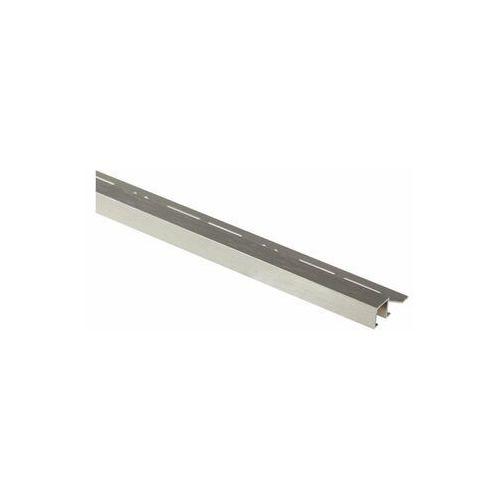 Cezar Profil wykończeniowy aluminium kwadrat 11 x 8 mm / 2.5 m lux platyna
