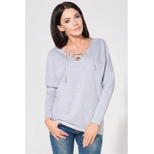 Bluza Damska Model T141 Light Grey