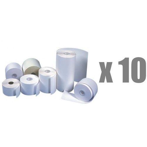 Emerson Rolki papierowe do kas termiczne , 60 mm x 30 m, opakowanie 10 x zgrzewka 10 rolek - autoryzowana dystrybucja - szybka dostawa
