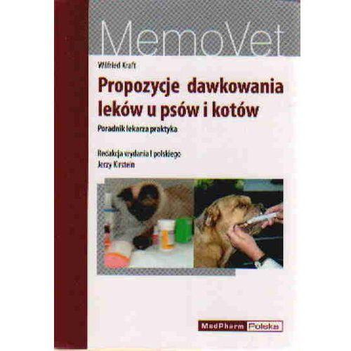 Propozycje dawkowania leków u psów i kotów. MemoVet, MedPharm