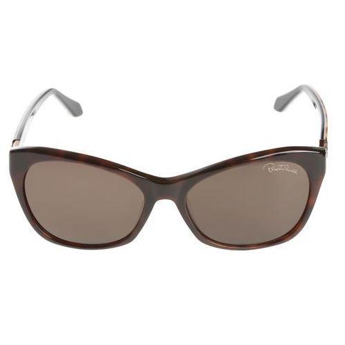 Roberto cavalli asdu okulary przeciwsłoneczne brązowy uni