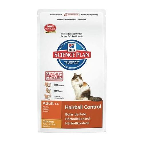 HILL'S Feline Adult Hairball Chicken 1,5kg - 1,5kg