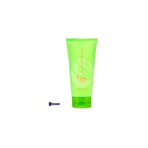 aloe waterproof sun gel spf50+ (w) żel przeciwsłoneczny do ciała 100ml marki Holika holika
