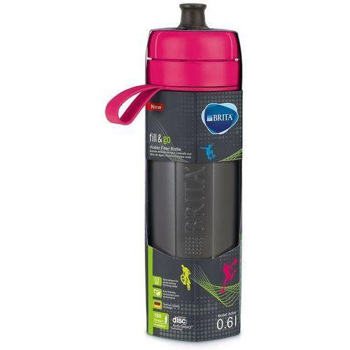 Butelka z filtrem BRITA FILL&GO ACTIVE RÓŻOWA (4006387072599)