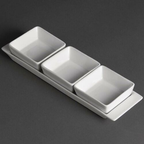 Zestaw półmisek + naczynia   30x9x(H)3,5cm