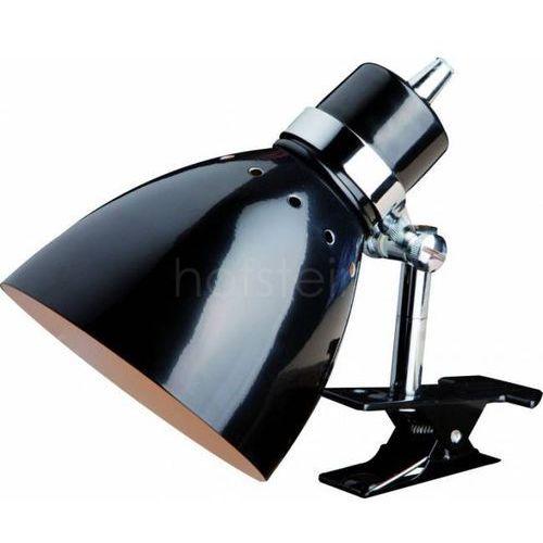 Steinhauer SPRING lampa z klipsem Czarny, 1-punktowy - Nowoczesny - Obszar wewnętrzny - SPRING - Czas dostawy: od 4-8 dni roboczych - sprawdź w wybranym sklepie