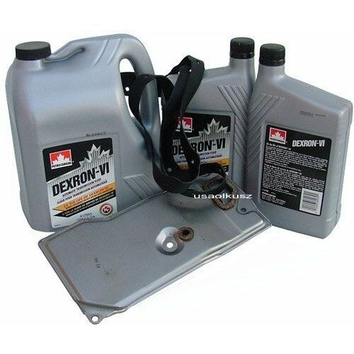 Petro-canada Filtr oraz olej dextron-vi automatycznej skrzyni biegów aw4 jeep cherokee -2001
