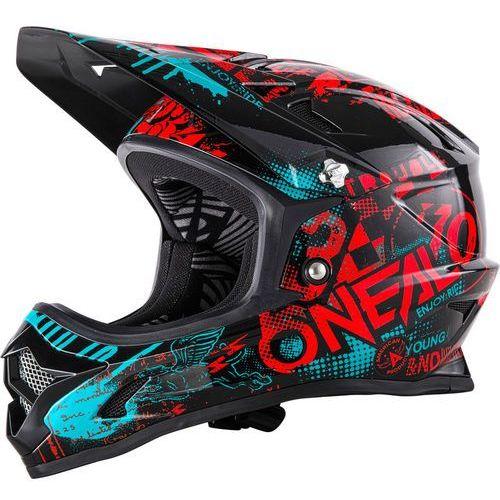 Oneal backflip rl2 kask rowerowy czerwony/czarny s | 55-56cm 2018 kaski rowerowe (4046068500683)