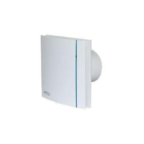 Wentylator łazienkowy cichy Silent Design 100 CRZ - Timer. Biały