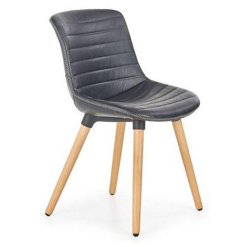 Krzesło drewniane Lorien - czarne, V-CH-K/267-KR-CZARNY