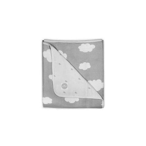 Koc mu�linowy 120x120 (szare niebo) marki Jollein