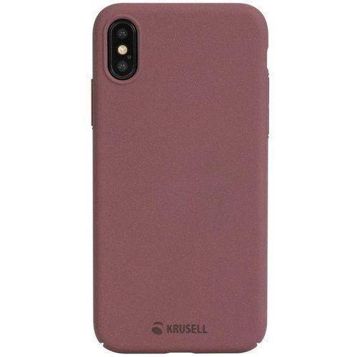 Krusell Sandby Cover - Etui iPhone X (Rust) (7394090610939)