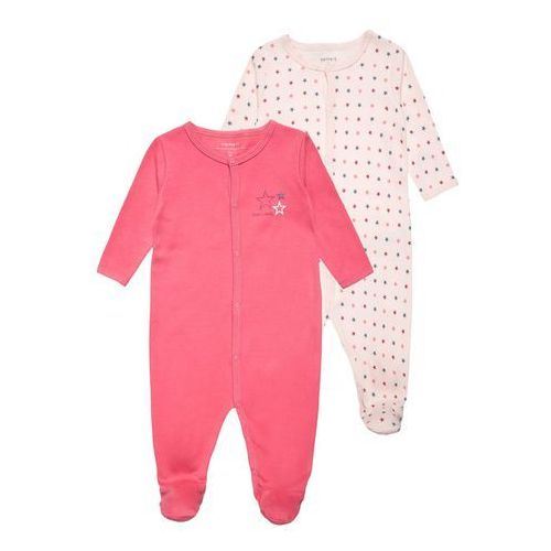 Name it NITNIGHTSUIT 2 PACK Śpioszki pink dogwood