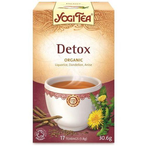 Herbata detox bio (yogi tea) 17 saszetek po 1,8g od producenta Yogi tea, usa